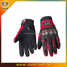 Motorcycle Waterproof Windproof Winter keep Warm Protector Carbon Fiber Gloves