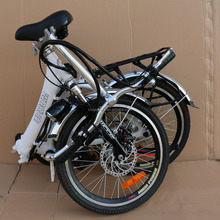 20 inch 350W Folding Electric Bike Sport Mountain Bicycle with 36V Lithium Battery