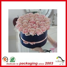2017 China supplier wholesale beautiful flower shipping hat packaging box for sale