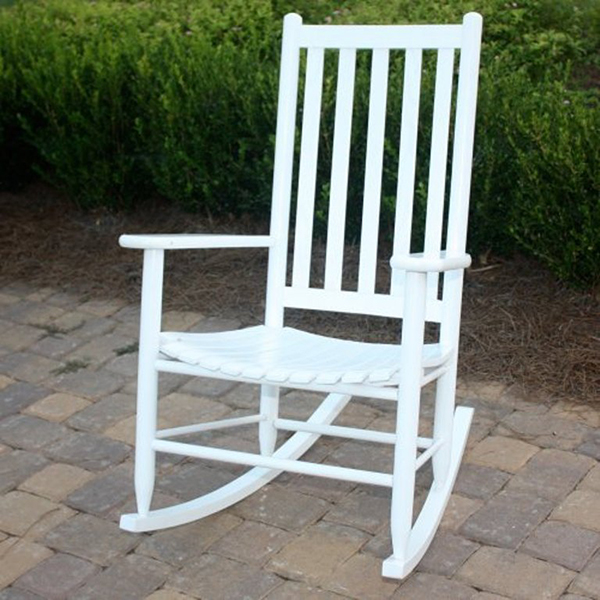 2016 Best Selling White Outdoor Rocking Chair Buy White Outdoor