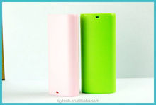 2014 High capacity mobile phone 5200 power bank with replaceable battery