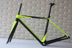 Carbon Bicycle Road Bike Parts Carbon Fiber Superlight Frame Import From China