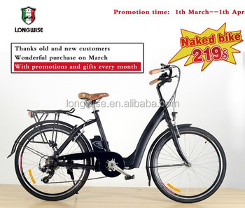 "2015 new 26"" electric city bicycle with ce and en approval at lowest promotion price"