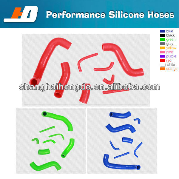 silicone rubber radiator hose For NISSAN SKYLINE R33 R34 GTS GTS-T RADIATOR HOSE 1994 ~ 2001 rubber silicone hose
