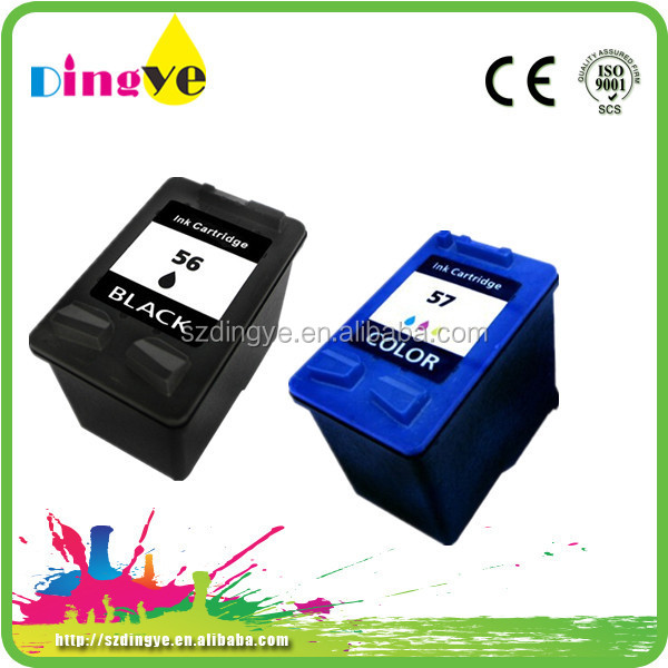 chip reset to full level ink cartridges 56 57 for hp printer HP C6656A 56 C6657A 57