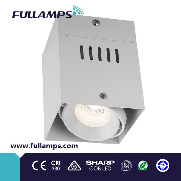Fullamps new product single head 10w lede cob surface ceiling grille light 220mA led <strong>driver</strong>