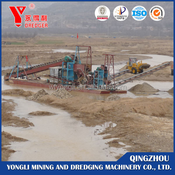 Bucket Chain Dredgers for Sand Dredging
