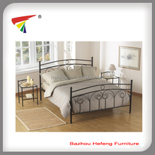 King size metal double bed frame