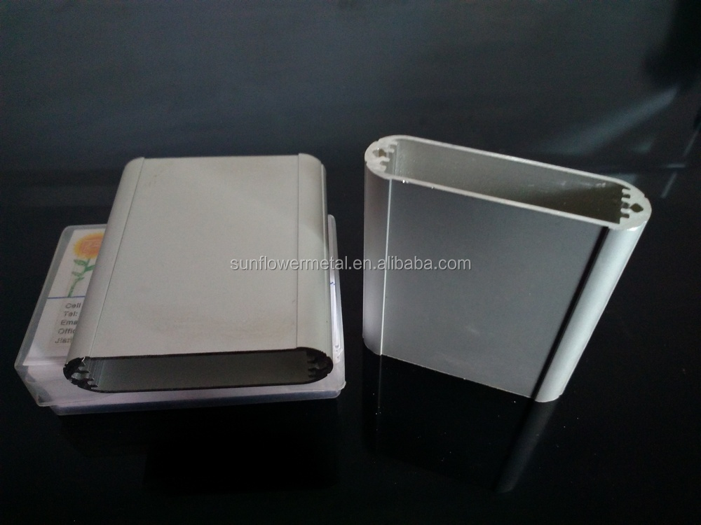 Best quality natural anodized extruded aluminium enclosure