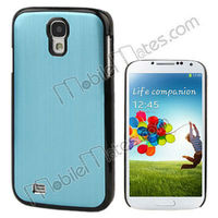 Cheap Newest Aluminum Back Cover + Hard PC Bumper Case for Samsung Galaxy S IV S4 i9500