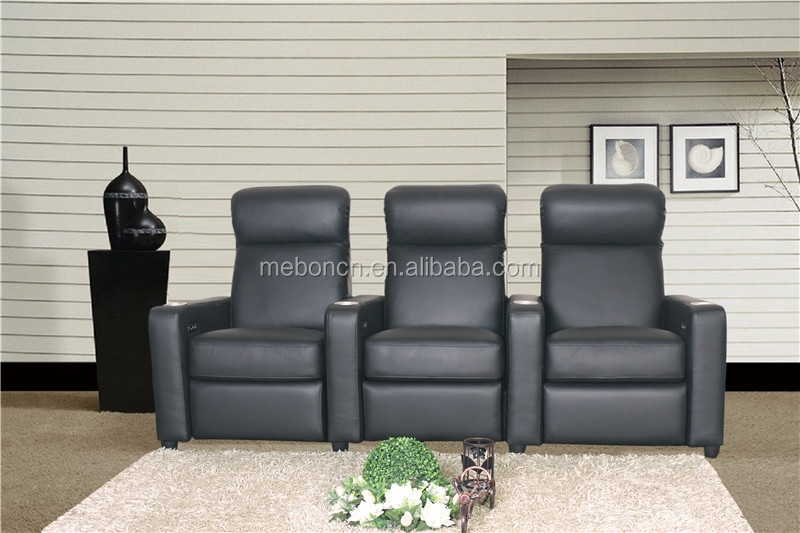 2015 New Home Theatre recliner with adjustable headrest with Okin motor