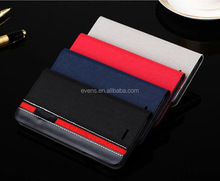 Contrast color Fashion PU Leather Wallet Flip Mobile Phone Case Cover For MEIZU MX2
