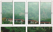 PVC windows and doors wholesale,small size white color plastic sliding window