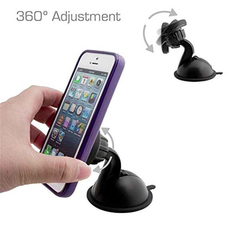 Universal Plastic Flexible Hand Cell Phone Holder , Magnetic Mobile Phone Holder