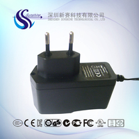 DC9V 2A battery charger for VGA splitter with CE certification