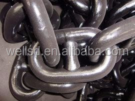 high quality stud anchor link chains black/hot galvanized ship anchor chain from China