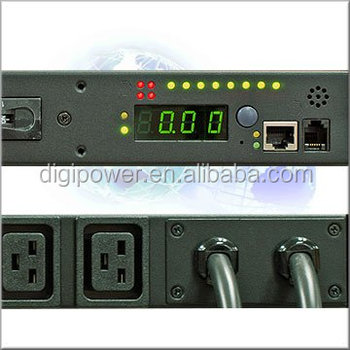 PDU, Dual Input, Remote power control, Individual outlet monitoring 60A 208V