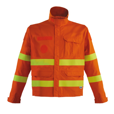 high performance poly-cotton fire retardant suit with EN ISO 11612 EN 15614
