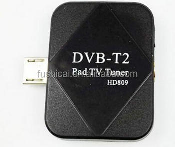 Micro dvbt2 tv receiver for Android