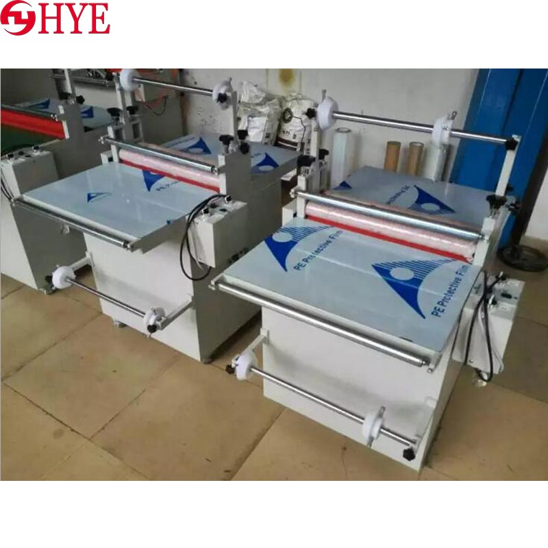 PVC label film laminating machine - glass film laminating machine