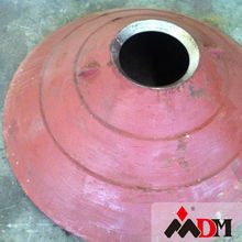 Wear Resistant Cone Crusher Parts Mantle And Concave Spare Parts For Crusher