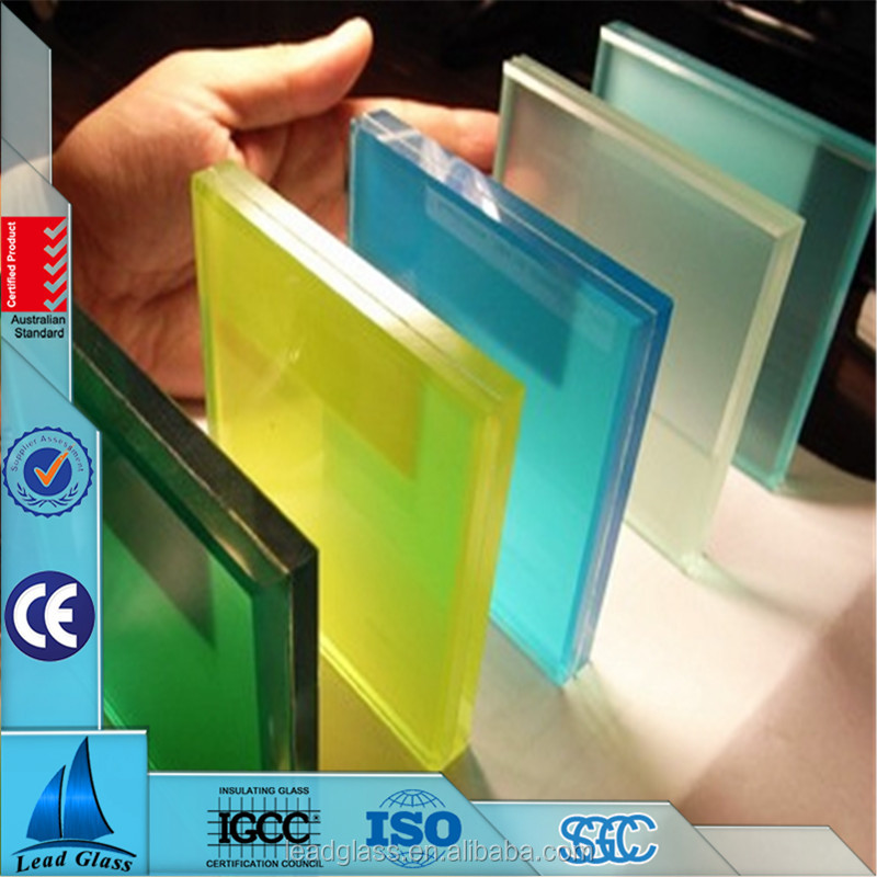 (Bronze, Green, Blue, Grey & Pink) Colored Tinted Float Glass