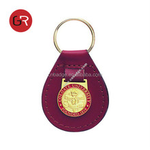 2013 Leather Enamel Torch Key chain