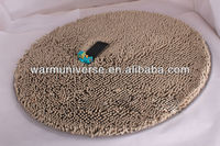 Chenille Bedroom Floor round Carpet Kitchen Bath Rug Mat Doormat Room Pad