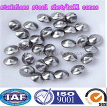 201 material stainless steel shot /flying saucer /ball cones