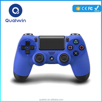 Original Quality Qualwin Wireless Gamepad Controller PS4 Bluetooth Gamepad For IOS/Android Device Play 3D Games