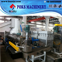 waste PP PE film pelletizing production line