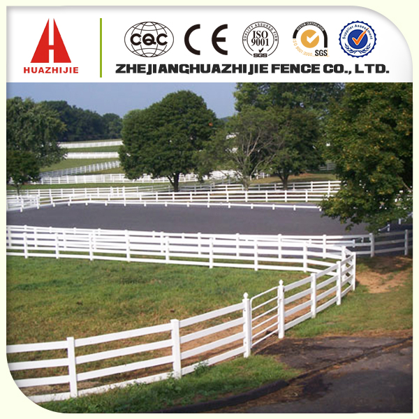 Supply plastic wood fence apply for goat