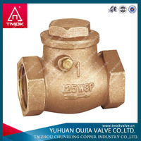 pvc floating ball swing check valves made in TAIZHOU OUJIA