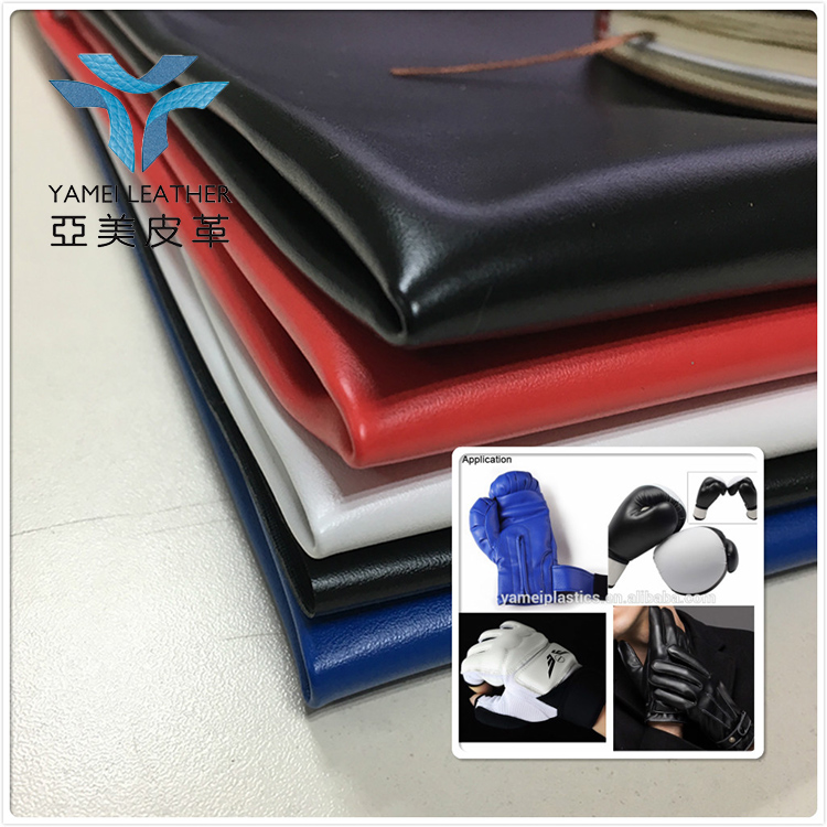 motorcycle gloves material pu coated polyester fabric