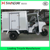 3 wheel motorcycle Enclosed tricycle with driving cabin truck cargo tricycle