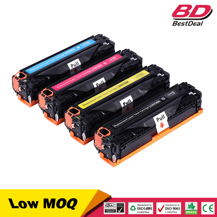 compatible toner cartridge 380a cf380a cf381a cf382a cf383a for hp