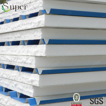 High quality rock wool sandwich panel for building/eps sandwich panel for floor