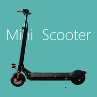 250W folding electric city scooter