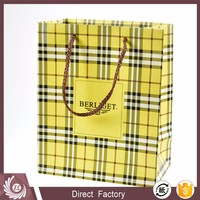 New design fancy gift bags , watch packaging bags with wholesale price