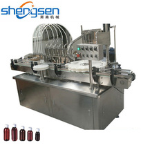 Full Automatic Carbonated Drink Bottle Filling Capping Machine