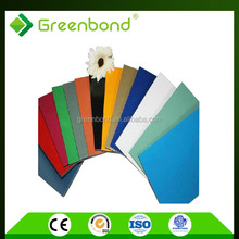 Greenbond caravan wall cladding for exterior decoration materials with great quality