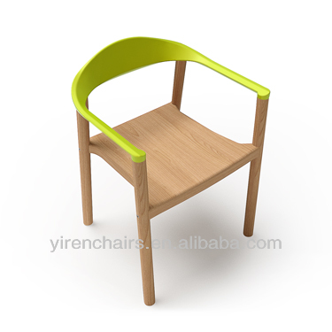 high quality wooden armrest chair