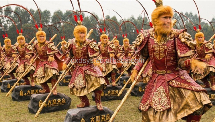 The Monkey King -Zhen Zi Dan Lifelike Full Size Silicone Wax Figure