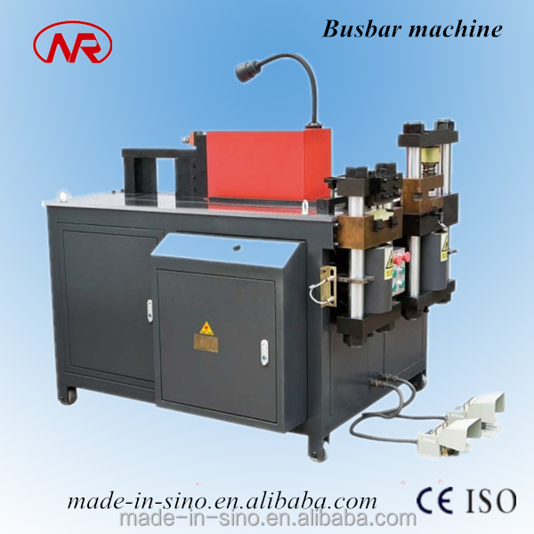 NR803E-3 CNC Copper Busbar Bending Cutting CNC Angle Bending Machine