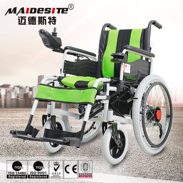 Shopping Medical Equipment Free Cushion Included Electric Power Wheel Chair
