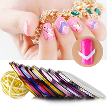 Bluesky beauty DIY Nail Art Sticker Line French gel manicure sticker