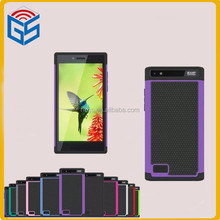 Factory Names Combo Silicone+PC Shockproof Case For Blackberry Leap Z20