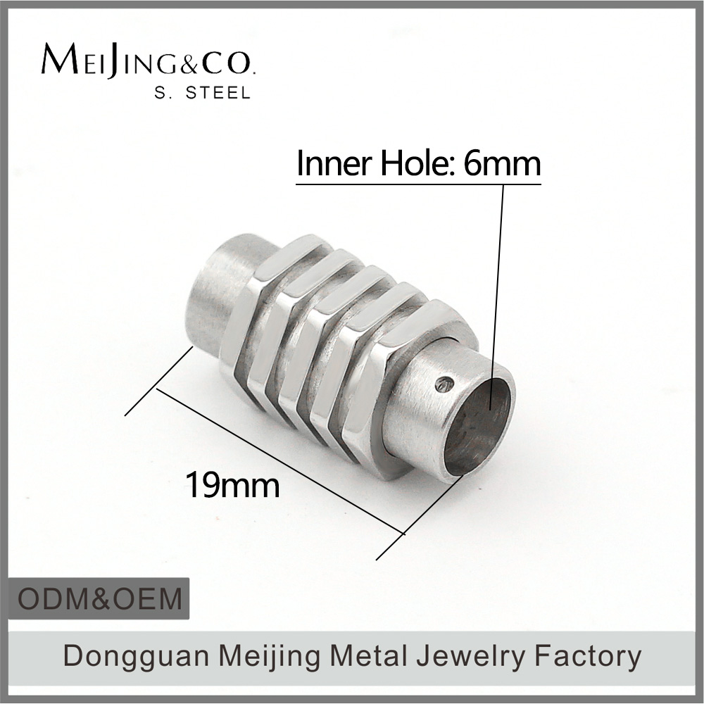 Jewelry Findings And Components Stainless Steel Magnetic Clasp