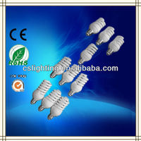 T2 7mm full spiral 15w-25w Energy saving bulb
