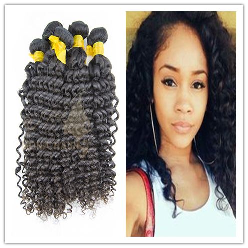 Wholesale cheap human hair weaving jerry curl human hair for braiding